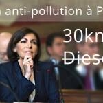 Le plan anti pollution d'Anne Hidalgo crée la polémique