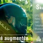 Casque moto Skully AR-1 prix, date et fonctionnalités