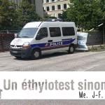 L'éthylotest est obligatoire avant l'éthylomètre