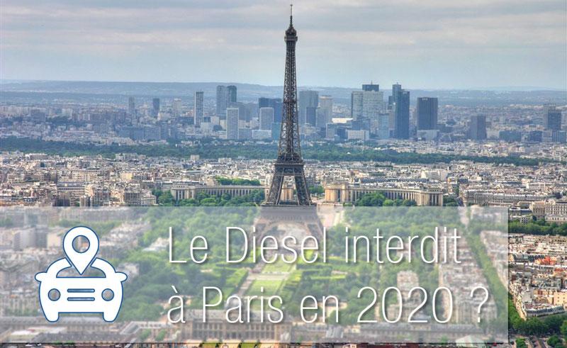 Le diesel interdit à Paris