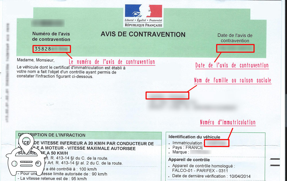avoir son dossier de contravention sur internet legipermis