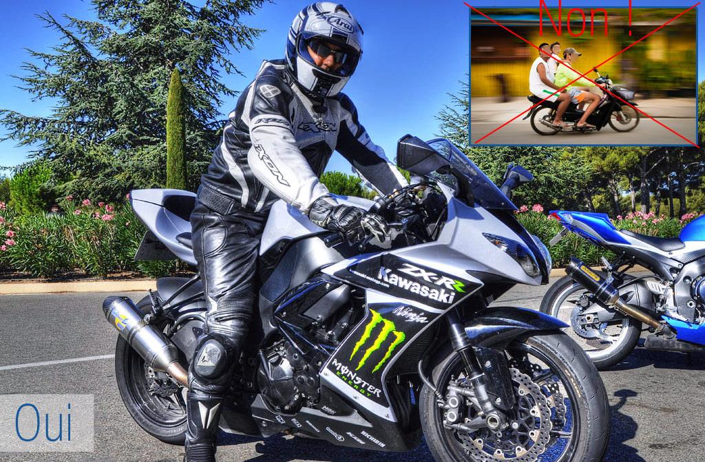 équipement à moto, faire ou ne pas faire