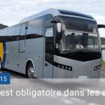 Les éthylotests obligatoires dans les cars au 01/09/2015