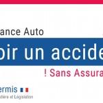 Avoir un accident sans assurance auto