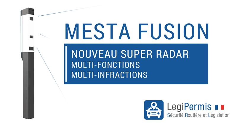 radar mesta fusion, nouveau radar