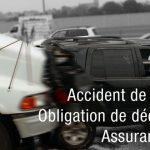 Déclaration d'un accident de la route : délais et obligations