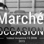 Le prix moyen d'une voiture d'occasion en 2015
