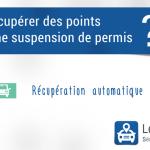 Récuperer des points pendant une suspension de permis