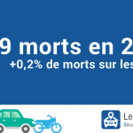 Augmentation du nombre de morts en 2016 sur la route