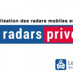 Des radars mobiles privés en septembre 2017 ?
