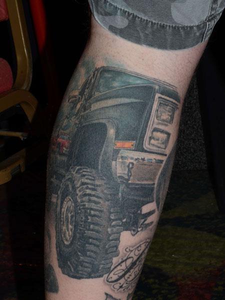 TOP 10 des tatouages dédiés à la voiture et la route ...