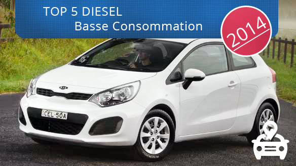 TOP DIesel consommation