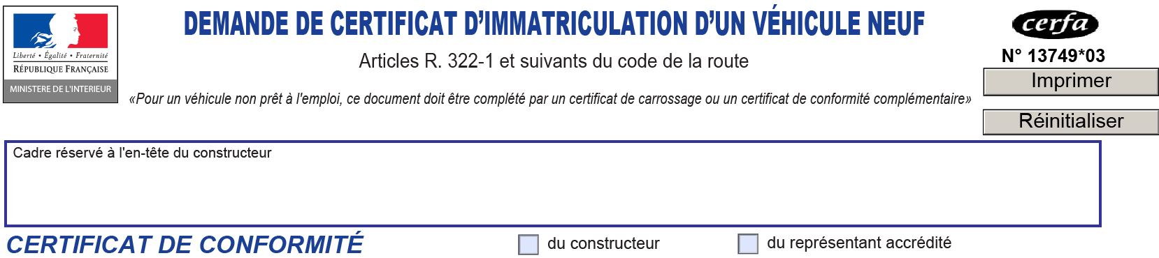 Certificat D Immatriculation Quels Couts Et Pieces Justificatives