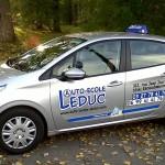 Le prix du permis B selon l'auto-école Leduc