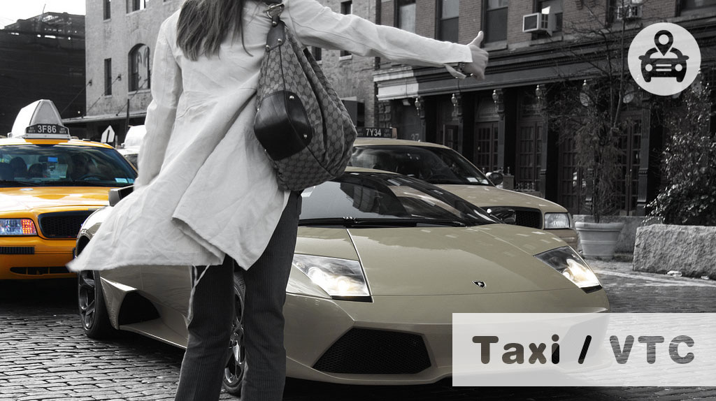 innovation taxi VTC uber luxe