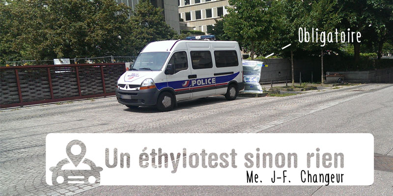 Ethylotest obligatoire