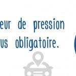 Les testeurs de pression obligatoires dans les voitures neuves