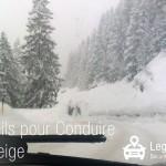 5 conseils pour conduire sur la neige
