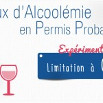 Le taux d'alcoolémie abaissé pour les permis probatoires