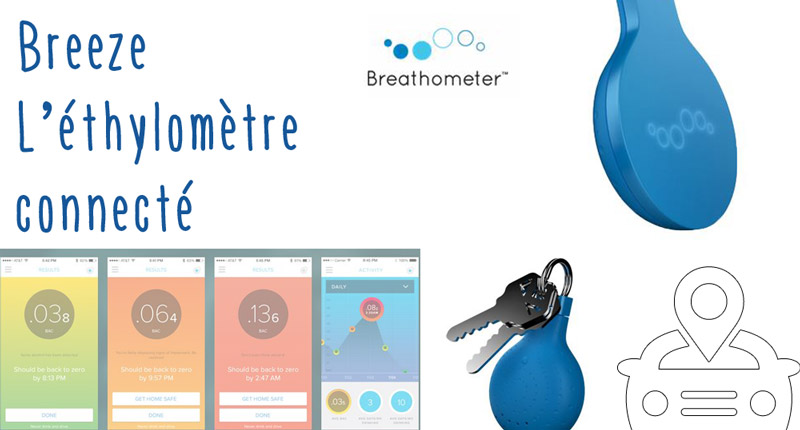 Breeze Breathometer – Souffler dans le ballon 2.0