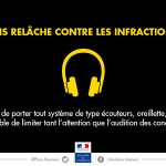Interdiction des oreillettes sur la route le 1er juillet 2015