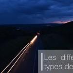 Différences entre phares de position, croisement, routes …