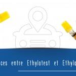 Quelle est la différence entre un éthylotest et un éthylomètre ?