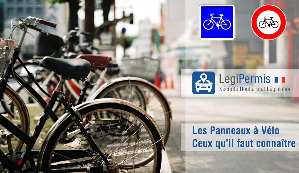 les panneaux pour les vélos