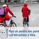 Infractions à vélo : Peut-on perdre des points ?