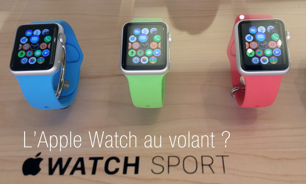 Apple Watch au volant ?
