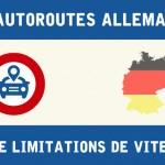 Limitations de vitesse en Allemagne sur autoroute
