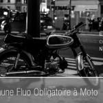 Le gilet jaune à moto obligatoire le 1er Janvier 2016
