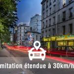 Les zones à 30km/h à Paris dés cette année 2015