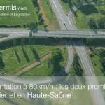 La liste des routes limitées à 80km/h à partir de l'été 2015