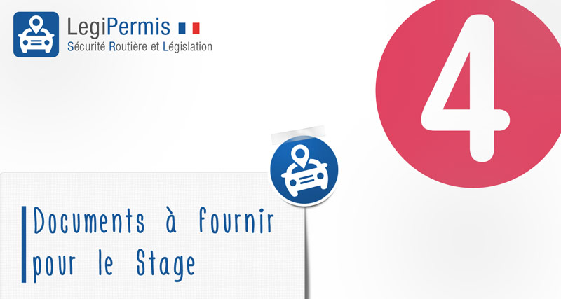 documents à fournir stages de récupération de points