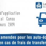 Des amendes pour les auto-écoles en cas de frais de transferts
