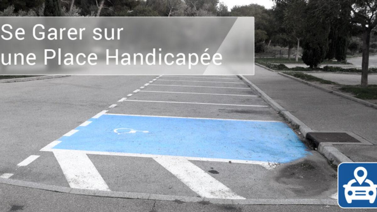 Se garer sur une place handicapée : risques, amende et sanctions
