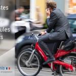 Les vélos autorisés à circuler à distance des voitures stationnées