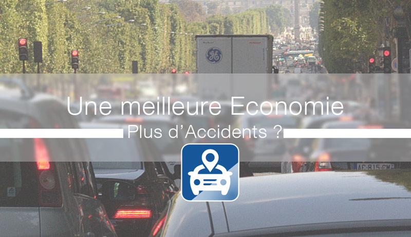 Meilleure économie engendre plus d'accidents de la route