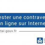 Contestation d'une contravention en ligne sur Internet