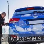 Les taxis Hype à hydrogène débarquent à Paris en 2016