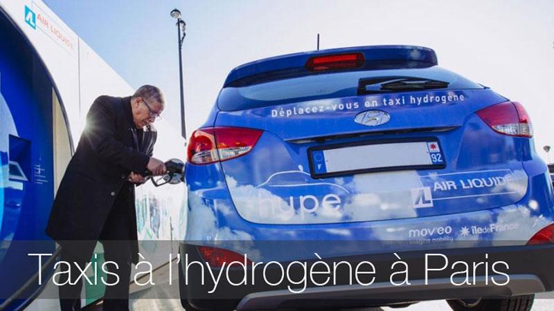 taxi hydrogène Paris Hype 2016