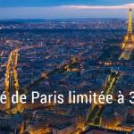La moitié de Paris limitée à 30 km/h en 2016