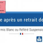 Différence entre permis blanc et référé suspension