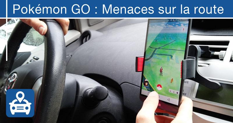 Pokemon GO au volant sur la route : grave danger !