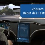 Le test des voitures autonomes autorisé en France