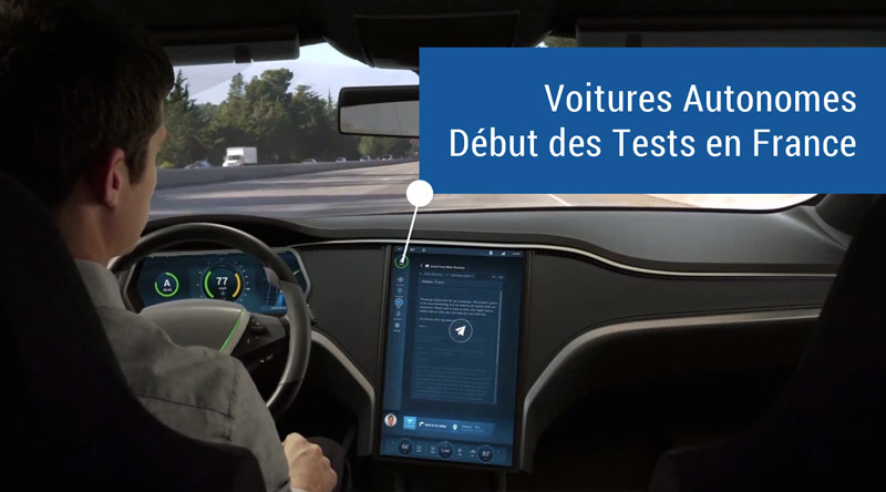 le test des voitures autonomes autoris en france legipermis. Black Bedroom Furniture Sets. Home Design Ideas