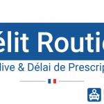 Délit routier : récidive et délai de prescription
