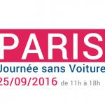 Journée sans voiture Paris le 25/09/16, les zones concernées