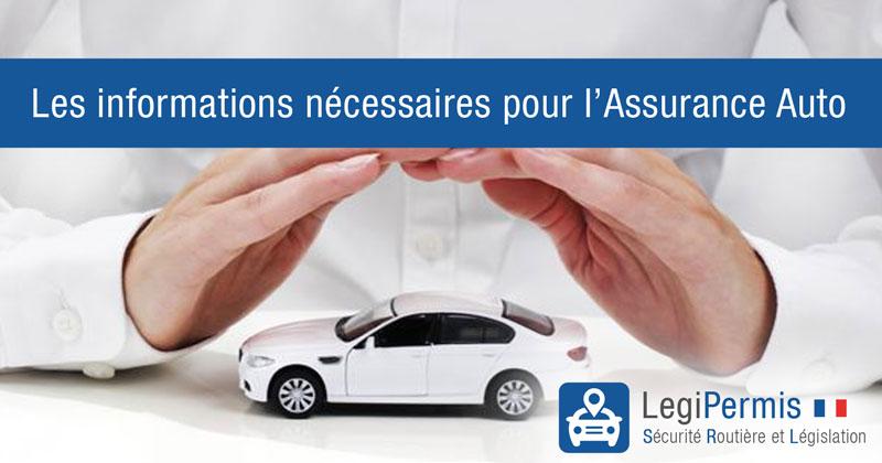 Que demande-t-on dans un devis d'assurance auto?